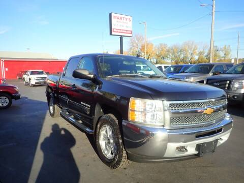 2012 Chevrolet Silverado 1500 for sale at Marty's Auto Sales in Savage MN