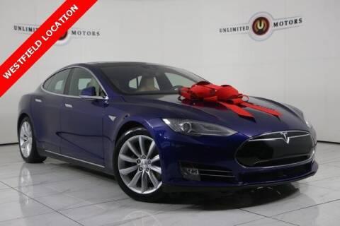 2016 Tesla Model S for sale at INDY'S UNLIMITED MOTORS - UNLIMITED MOTORS in Westfield IN