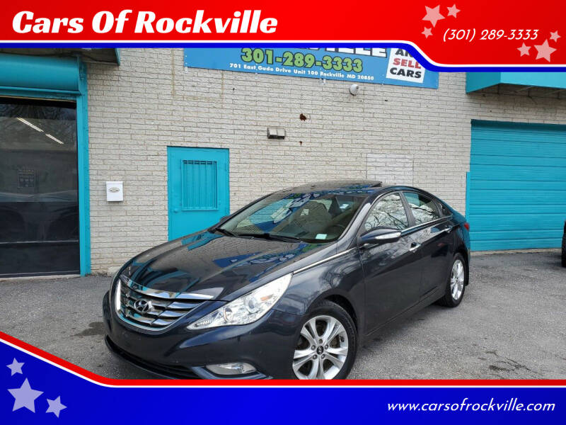 2011 Hyundai Sonata for sale at Cars Of Rockville in Rockville MD