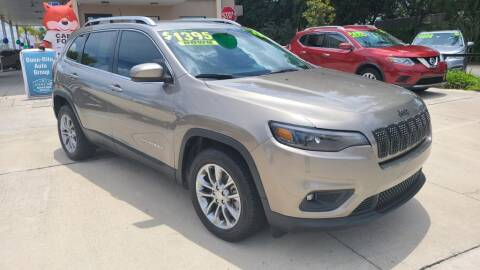 2019 Jeep Cherokee for sale at Dunn-Rite Auto Group in Longwood FL