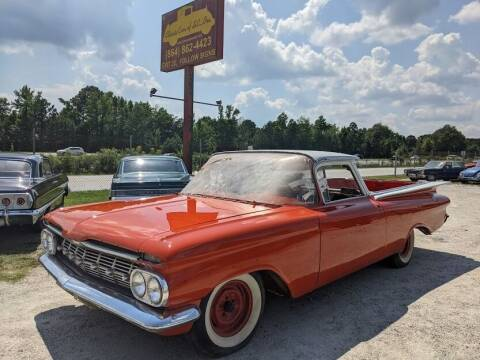 1959 Chevrolet El Camino for sale at Classic Cars of South Carolina in Gray Court SC