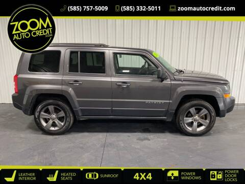 2015 Jeep Patriot for sale at ZoomAutoCredit.com in Elba NY