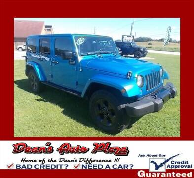 2015 Jeep Wrangler Unlimited for sale at Dean's Auto Plaza in Hanover PA