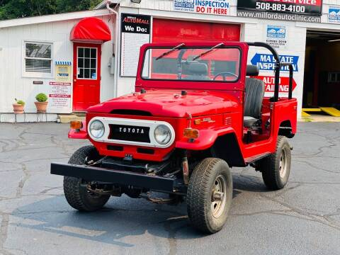 1973 Toyota Land Cruiser for sale at Milford Automall Sales and Service in Bellingham MA