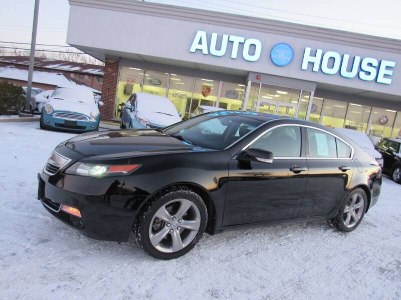 2013 Acura TL for sale at Auto House Motors in Downers Grove IL