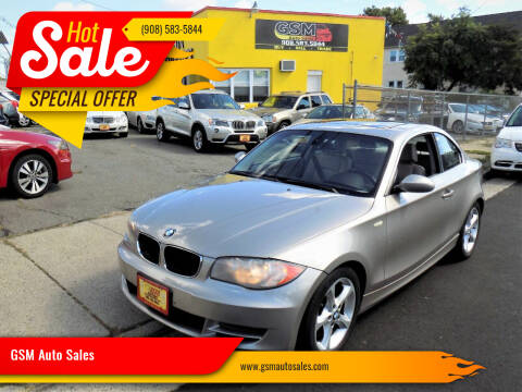 2009 BMW 1 Series for sale at GSM Auto Sales in Linden NJ