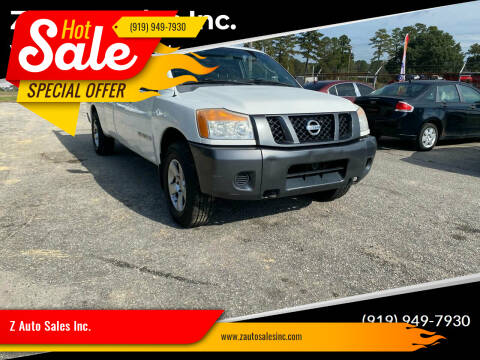 2008 Nissan Titan for sale at Z Auto Sales Inc. in Rocky Mount NC