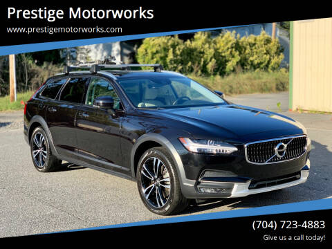 2018 Volvo V90 Cross Country for sale at Prestige Motorworks in Concord NC