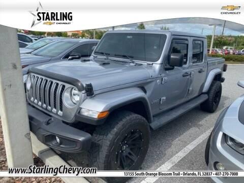 2020 Jeep Gladiator for sale at Pedro @ Starling Chevrolet in Orlando FL