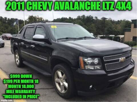 2011 Chevrolet Avalanche for sale at D&D Auto Sales, LLC in Rowley MA