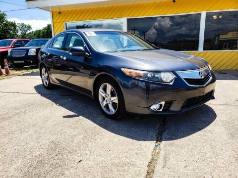 2012 Acura TSX for sale at THE COLISEUM MOTORS in Pensacola FL