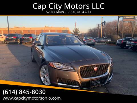 2016 Jaguar XF for sale at Cap City Motors LLC in Columbus OH