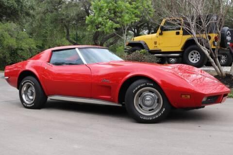 1973 Chevrolet Corvette for sale at SELECT JEEPS INC in League City TX