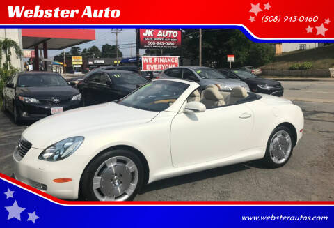2003 Lexus SC 430 for sale at Webster Auto Sales in Webster MA