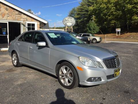 2010 Mercedes-Benz E-Class for sale at Bladecki Auto in Belmont NH