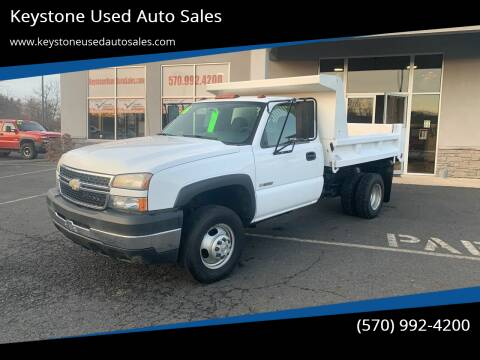 2006 Chevrolet Silverado 3500 for sale at Keystone Used Auto Sales in Brodheadsville PA