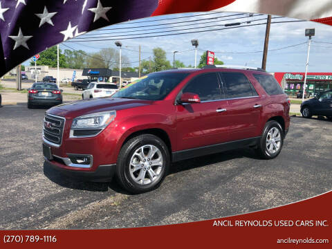 2015 GMC Acadia for sale at Ancil Reynolds Used Cars Inc. in Campbellsville KY