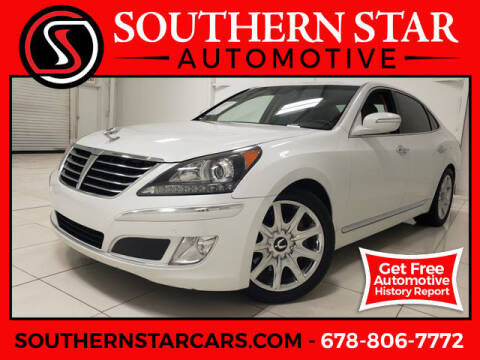 2013 Hyundai Equus for sale at Southern Star Automotive, Inc. in Duluth GA