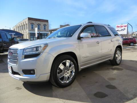 2013 GMC Acadia for sale at The Car Lot in New Prague MN
