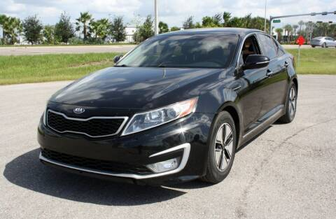 2012 Kia Optima Hybrid for sale at FLORIDA USED CARS INC in Fort Myers FL