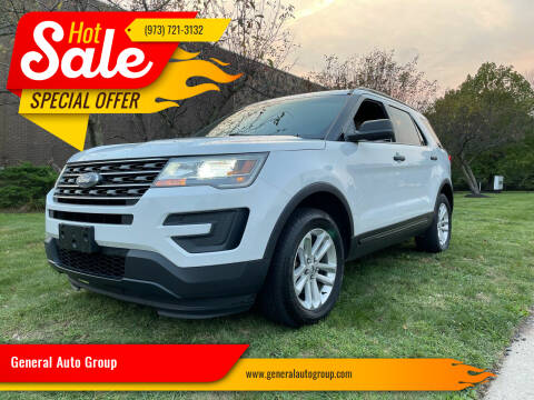 2017 Ford Explorer for sale at General Auto Group in Irvington NJ