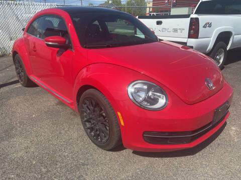 2014 Volkswagen Beetle for sale at BELOW BOOK AUTO SALES in Idaho Falls ID