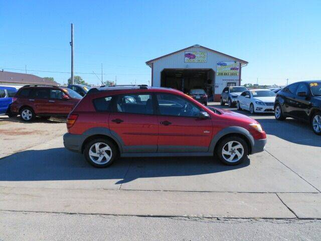 2004 Pontiac Vibe for sale at Jefferson St Motors in Waterloo IA