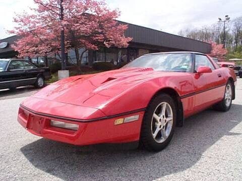 1985 Chevrolet Corvette for sale at Black Tie Classics in Stratford NJ