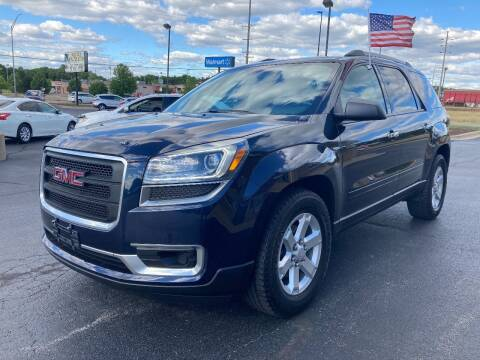 2015 GMC Acadia for sale at Auto Outlets USA in Rockford IL