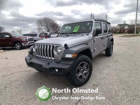 2018 Jeep Wrangler Unlimited for sale at North Olmsted Chrysler Jeep Dodge Ram in North Olmsted OH
