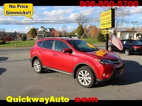 2013 Toyota RAV4 for sale at Quickway Auto Sales in Hackettstown NJ