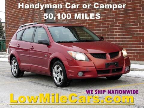 2004 Pontiac Vibe for sale at A1 Auto Sales in Burr Ridge IL