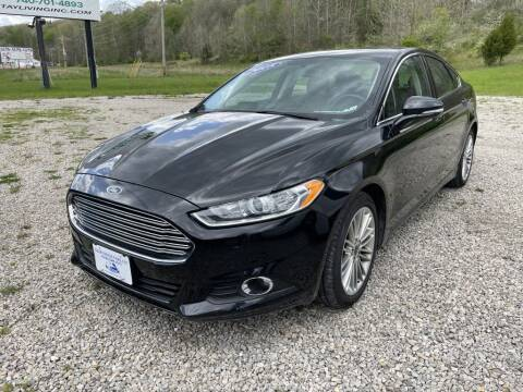 2015 Ford Fusion for sale at Court House Cars, LLC in Chillicothe OH