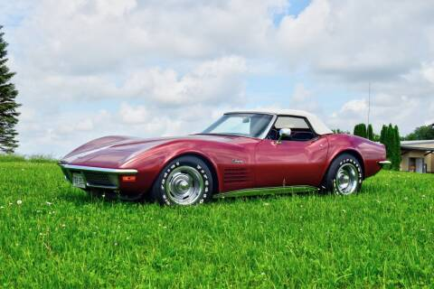 1970 Chevrolet Corvette for sale at Hooked On Classics in Watertown MN