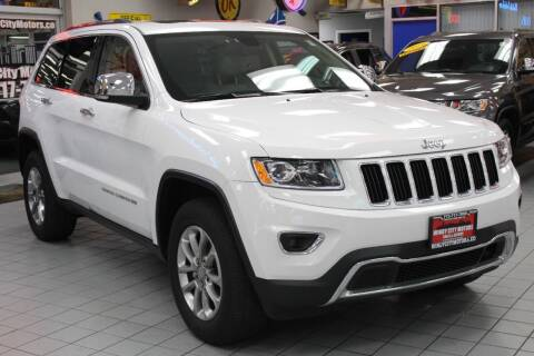 2016 Jeep Grand Cherokee for sale at Windy City Motors in Chicago IL
