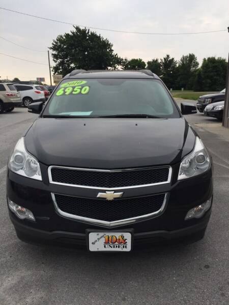 2010 Chevrolet Traverse for sale at KEITH JORDAN'S 10 & UNDER in Lima OH
