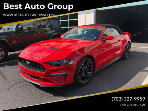 2020 Ford Mustang for sale at Best Auto Group in Chantilly VA
