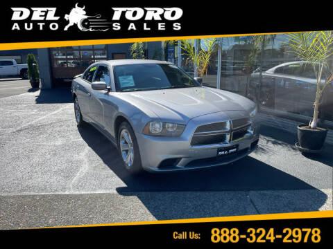 2014 Dodge Charger for sale at DEL TORO AUTO SALES in Auburn WA