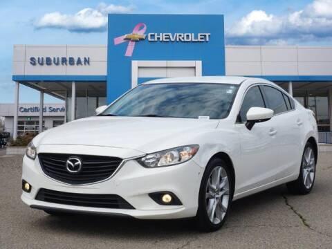 2015 Mazda MAZDA6 for sale at Suburban Chevrolet of Ann Arbor in Ann Arbor MI