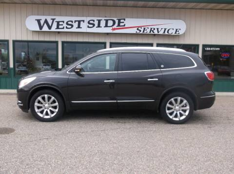 2014 Buick Enclave for sale at West Side Service in Auburndale WI