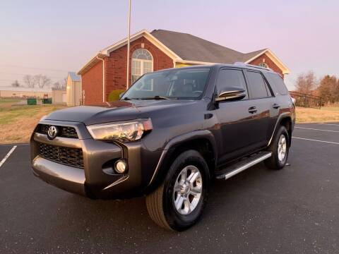 2016 Toyota 4Runner for sale at HillView Motors in Shepherdsville KY