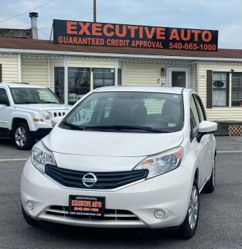 2015 Nissan Versa Note for sale at Executive Auto in Winchester VA