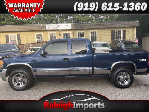 2001 GMC Sierra 1500 for sale at Raleigh Imports in Raleigh NC