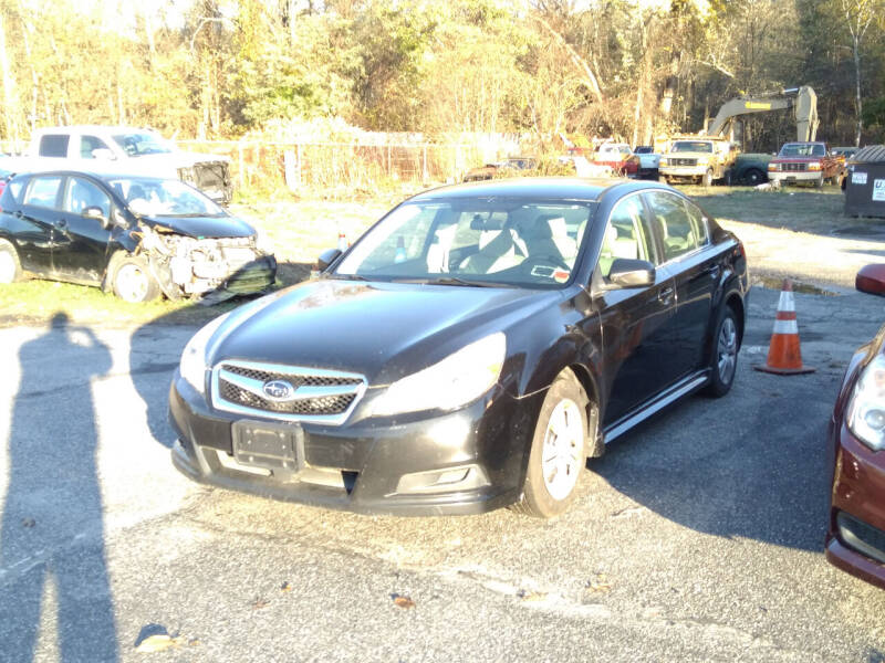 2011 Subaru Legacy for sale at SOUTH VALLEY AUTO in Torrington CT