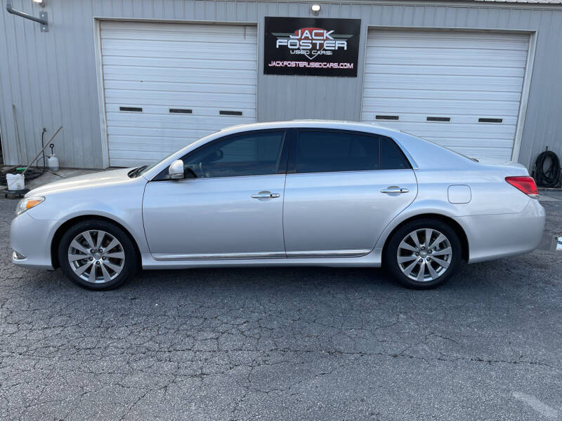2011 Toyota Avalon for sale at Jack Foster Used Cars LLC in Honea Path SC