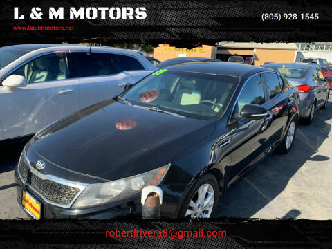 2013 Kia Optima for sale at L & M MOTORS in Santa Maria CA