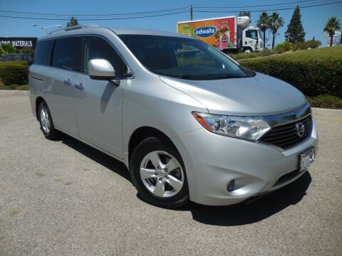 2015 Nissan Quest for sale at ARAX AUTO SALES in Tujunga CA