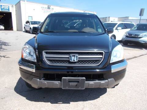 2005 Honda Pilot for sale at ACH AutoHaus in Dallas TX