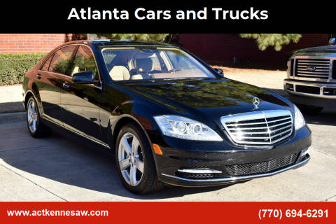 2010 Mercedes-Benz S-Class for sale at Atlanta Cars and Trucks in Kennesaw GA
