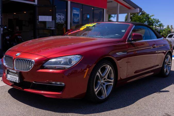 2012 BMW 6 Series for sale at Phantom Motors in Livermore CA